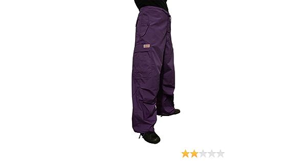 Amazon Com Ufo Classic Pantalon De Viento Clothing