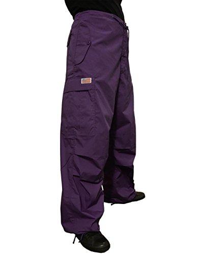 Ufo Pants (UFO's Classic Wind Pant, Grape (Large))