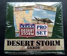 Pro Set Desert Storm Trading Cards Box (Set Box Trading Card)