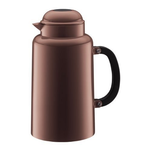 Bodum Chambord 34-Ounce Thermo Double Wall Vacuum Carafe, Brown (Coffee Bodum Vacuum)