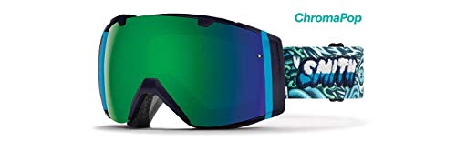 Smith Optics I/O Adult Snow Goggles - Tall Boy/Chromapop Sun Green Mirror