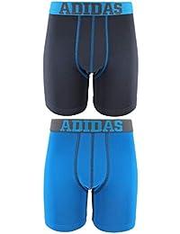 Adidas Climalite - Ropa Interior para niños/jóvenes, Rendimiento Deportivo (2 Unidades)