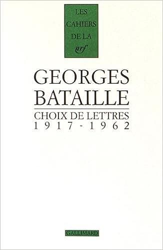 cover art for Choix de lettres: 1917-1962
