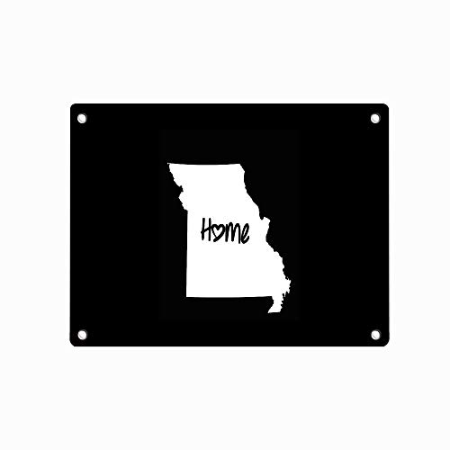 Missouri Home Jefferson City MO Love Customized Decorative Sign Tin Metal Sign for Wall Home Office Bar Coffee Shop 12