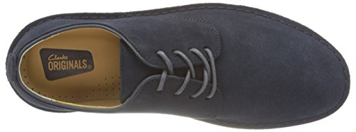 Clarks Originals Herren Desert London Derby Blau (Midnight Suede)