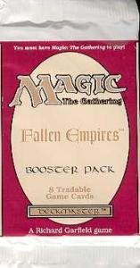 (Magic the Gathering Fallen Empires Booster Pack)
