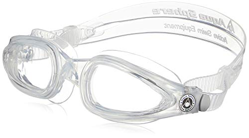 (Aqua Sphere Eagle Goggle (Clear Lens, Transparent))