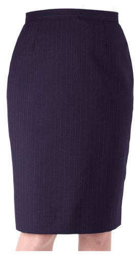 Ed Garments Women's Classic Fit Skirt, NAVY, 20W R by Edwards Garment (Image #1)