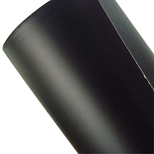 A&D Covering Noir Mat, Film Adhé sif Mat Noir pour Voiture 150Cm x 50Cm Professionnel Film Adhésif Mat Noir pour Voiture 150Cm x 50Cm Professionnel