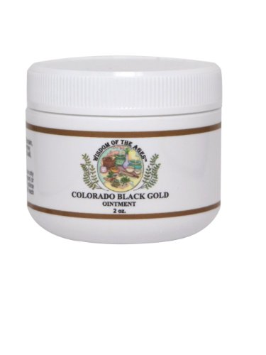 Black Herbal Ointment - Colorado Black Gold Ointment - Wisdom of the Ages