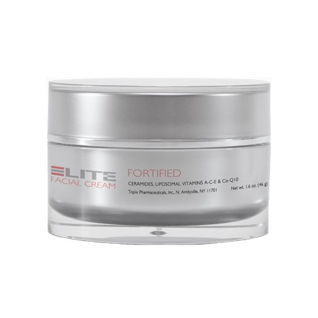 Glycolix Elite Facial Cream Fortified Moisturizer, 1.6 Ounce - Glycolix Elite Facial Cream