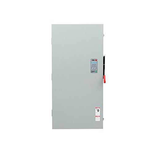 Siemens GF225NRA General Duty SAFETY Switch, Fusible, 2 Pole, 240 Volt, 400 Amp, Outdoor Rated by SIEMENS (Image #3)