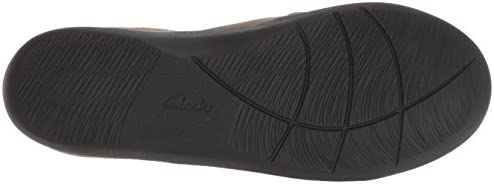 Clarks Women\'s Sillian Free Clog, Pewter Synthetic Combi, 070 M US