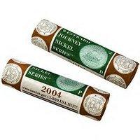 2004 P & D Westward Journey Nickel US Mint Wrapped Rolls Keelboat Mint Sealed Box