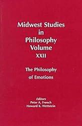 Midwest Studies in Philosophy: Philosophy of Emotions