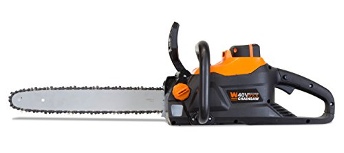 WEN 40417 40V Max Lithium Ion 16-Inch Brushless Chainsaw with 4Ah Battery and Charger (Best Stihl Chainsaw Ever Made)