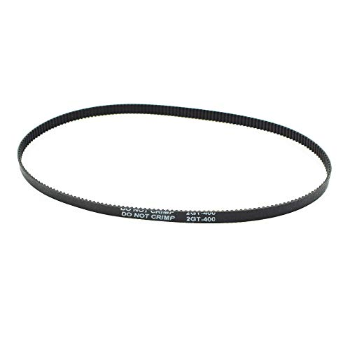 LICTOP GT2 Closed Loop Timing Belt Rubber 2GT 6mm 3D Printers Parts 400 mm Synchronous Belts Part - (1 Pc)