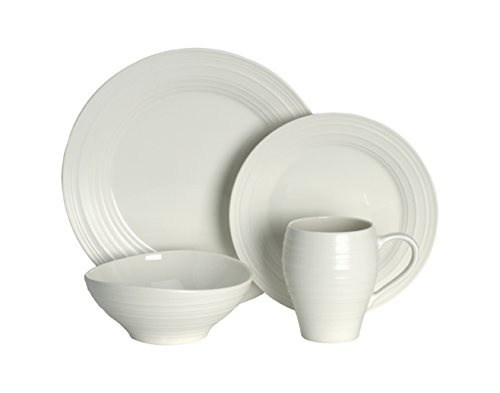 White 4 Piece Place Setting - 6