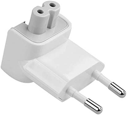 TB/® UK Plug Duckhead Power Adapter with FUSE For All MacBooks USB-C Power Adapters MagSafe and MagSafe 2 Power Adapters 10W 12W Replacement UK 3 Pin AC Power Adapter