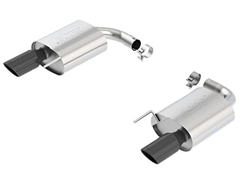 Borla Axle - BORLA 11887BC S-Type Axle-Back Exhaust System