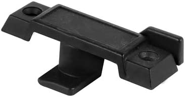 "Black Window Sash Lock with 2-1//4/"" Screw Holes Bulk 20 Pack"