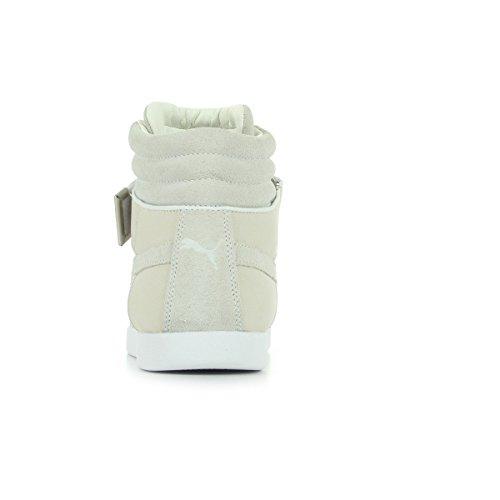 Puma Modern Court Hi Leather - Zapatillas de Piel para hombre Blanco blanco