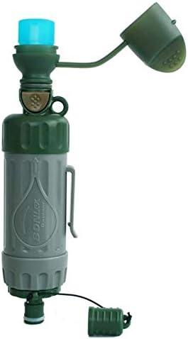 No Logo El Agua al Aire purificador, Supervivencia portátil Filtro ...