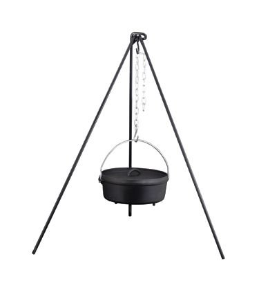 Camp Chef 50″ Heavy Duty Dutch Oven Tripod W/chain New, Outdoor Stuffs