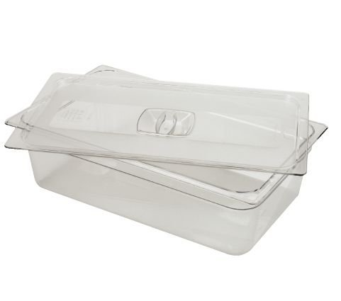 - Rubbermaid Commercial Cold Food Pan Covers RCP 121P-23 CLE