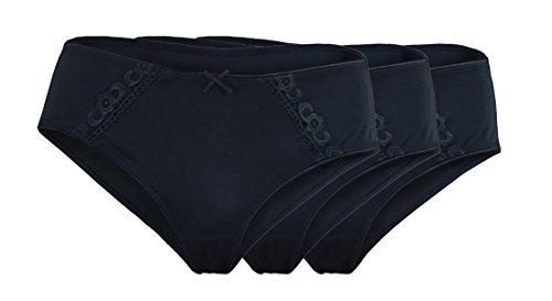 Unbekannt - Shorts - para mujer Schwarz 3er_Pack