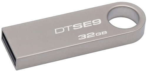 Kingston Digital DataTraveler SE9 32GB USB 2.0 Flash Drive (DTSE9H/32GBZ)