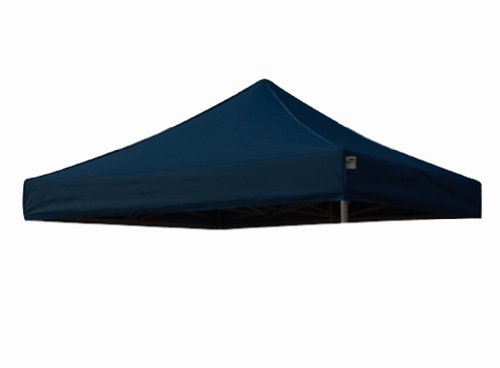 Eurmax New Pop up 10x10 Replacement Instant Ez Canopy Top Cover Choose 15 Colors (Navy ()