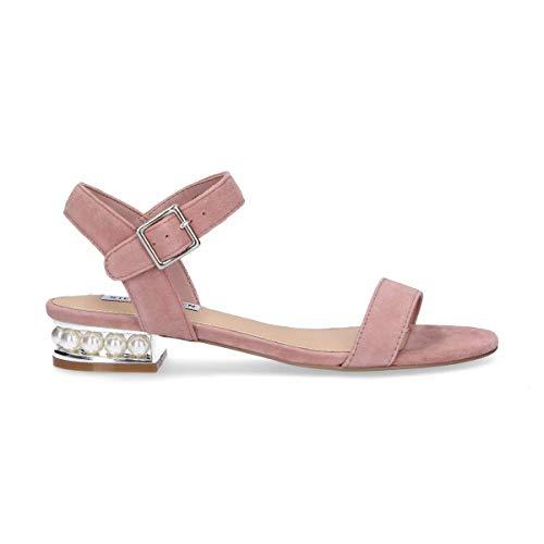 Cashmerepnk Steve Pink Suede Sandals Femmes Madden TwnZPHg