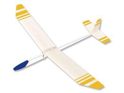Segelflieger Flugzeug Segler 68 cm Bausatz f. Kinder Werkset Bastelset ab 11 Jahren