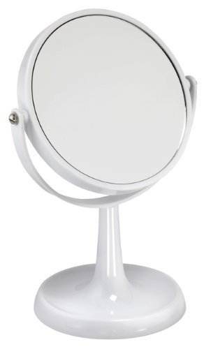 3x Magnification White Acrylic Mirror by Famego