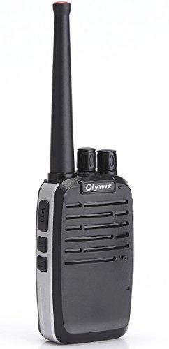 Walkie Talkie Aluminum Body Tiny Walkie Talkie Handheld Olywiz HTD-819 2W Two Way Radio 1 Pack