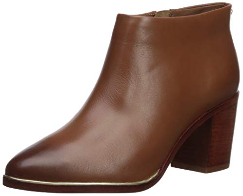 Ted Baker Women's Hiharu 2 Ankle Bootie, Dark Tan Leather, 9.5 M US from Ted Baker