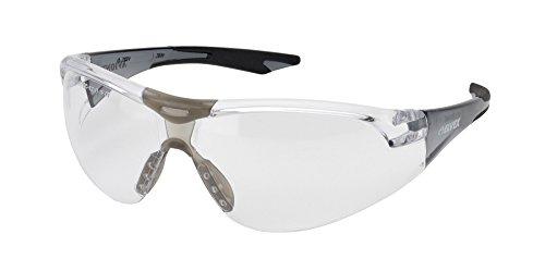 Elvex WELSG18CAFSLBLK Avion, One Size, Clear Anti/fog Lens/Slim Fit Black Temple