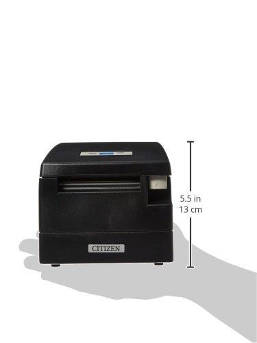 Citizen America CT-S2000UBU-BK CT-S2000 Series Hi-Speed POS Thermal Printer, 220 mm/Sec Print Speed, 42 Columns, USB, Internal Power Supply, Black by Citizen America (Image #2)