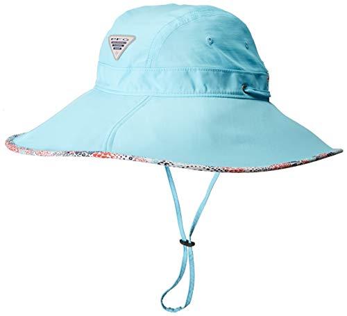 Columbia Women's Drifter Sun Hat, Coastal Blue, Print, Large/X-Large
