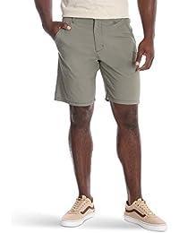 Authentics Men's Performance Comfort Waist Flex Flat Front Short
