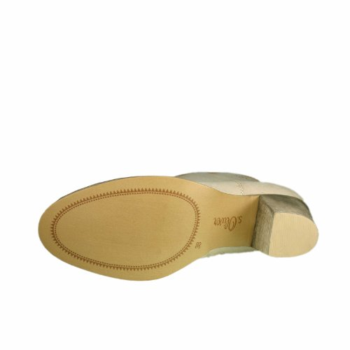 s.Oliver - Botas de material sintético para mujer beige Beige (SAND 355) beige - beige