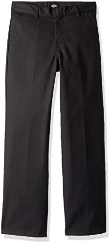 Dickies Boys' Flexwaist Flat Front Straight Leg Pant