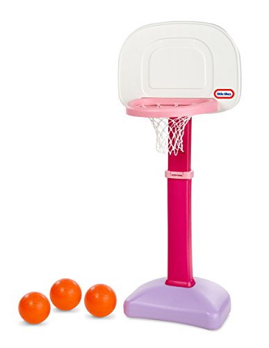 Little Tikes Easy Score Basketball Set (Pink) - 3 Ball
