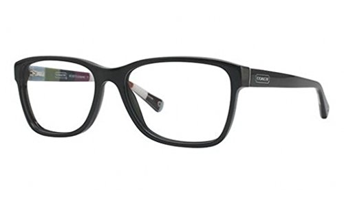 Coach Julayne Eyeglasses HC6013 5002 Black Demo Lens 54 16 135