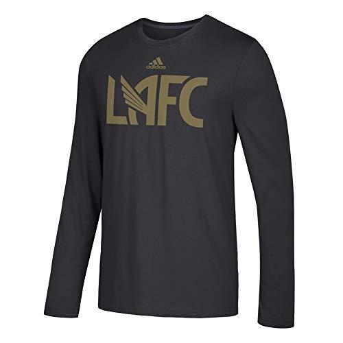 (adidas Men's Los Angeles FC Official Locker Room LS Tee (X-Large))