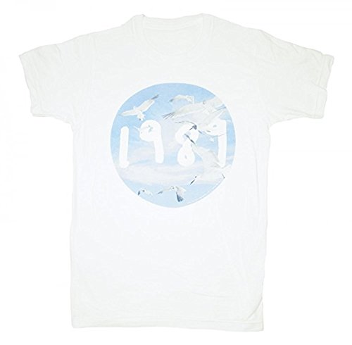 Gull Circle - Taylor Swift 1989 Seagull White Circle Tee T-shirt Adult Unisex (XL)