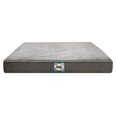 sealy-dog-bed-sherpa-orthopedic-dog-bed-large-modern-gray