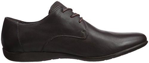CAMPER Mauro, Zapatos de Cordones Brogue Para Hombre Marrón (Dark Brown 018)