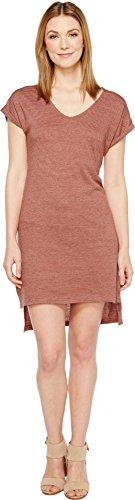 (Alternative Women's Eco Jersey Yarn Dye Stripe Escapade Dress, Desert Rock Olive Seaside,)